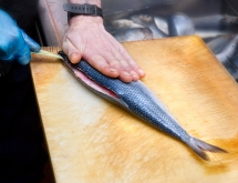 Slicing a kipper