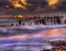 Happisburgh Sunrise in Norfolk