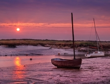 Sunrise at Morston North Norfolk