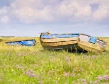 Boat scene on the North Norfolk Coast