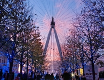 The London Eye on the River Thames
