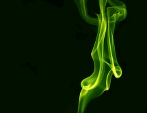 Green coloured smoke