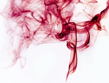 Inverted red smoke