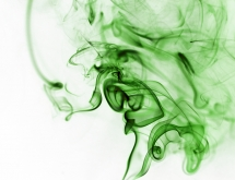 Inverted green smoke